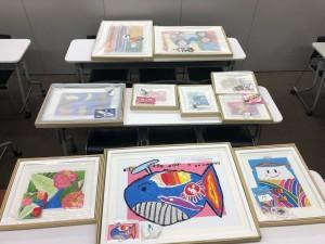 【画像】児童養護施設向け絵画コンクール_リアルアーティスト_2019年度