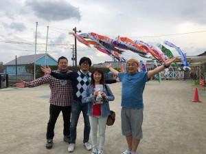 【画像】東日本大震災支援・鯉のぼりプロジェクト_みなと保育園集合写真_2019年度