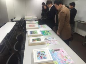 【画像】絵画コンクール‗2017年度グラフィックアート公開