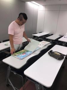 2019年度絵画コンクール審査風景